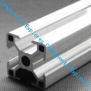 420 milímetros 3030 Prateado perfis Al para a Evolução do Hipercubo 3D Peças Impressas cor Prateada, 6 pçs/lote