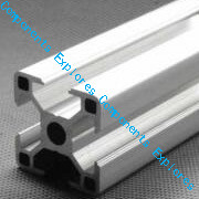 420mm 3030 Silvery Al Profiles  For HyperCube Evolution 3D Printed Parts Silvery Color,6pcs/lot