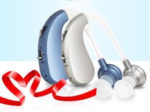 Слуховой аппарат для пожилых людей, невидимый беспроводной разъем для пожилых глухих, слуховой аппарат, Потеря слуха, глухота