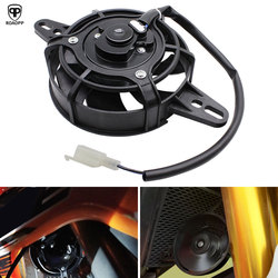 ROAOPP Motorcycle Cooling Fan Dirt Pit Bike Motorcycle ATV Quad Oil Cooler Water Cooler Radiator Electric 12V 200cc 250cc 300cc