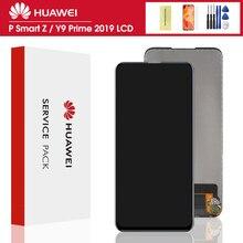 6.59» d'origine Pour Huawei Y9 Premier 2019 / P Smart Z ÉCRAN LCD STK-LX1 Numériseur À Écran Tactile + Assemblage de cadre Replament pièces