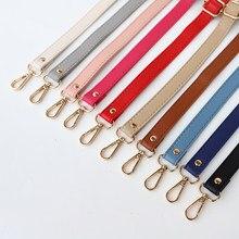 Mode femmes bandoulière 138cm longue Double couche sac à main poignées décoratif sac de messager ceinture poignée mince sac accessoires
