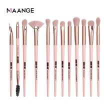 MAANGE Pro 3/5/12 adet/lot makyaj fırça seti göz farı karıştırma Eyeliner kirpik kaş fırçalar makyaj yeni