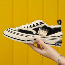Sneakers shoes women 2020 new cork vulcanized shoes casual