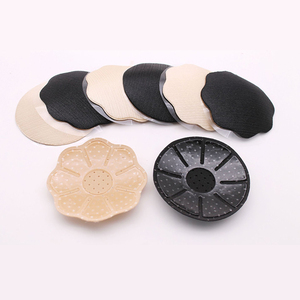 Jerrinut Reusable Women Breast Petals Nipple Cover Invisible Flirting Boob Tape Strapless Backless Lift Bra Pad Nipples Covers