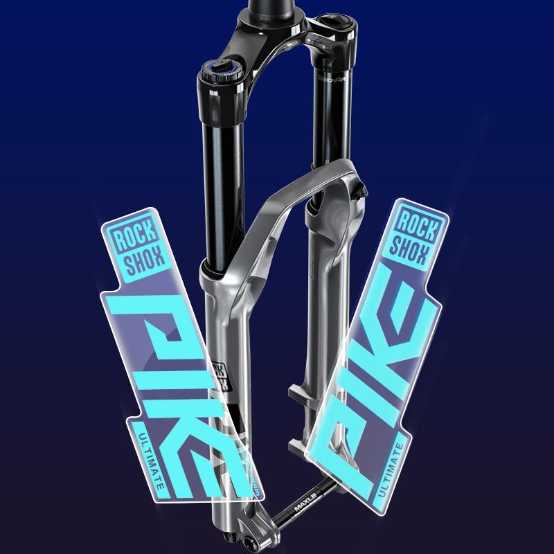 Rock Shox PIKE 2020 ULTIMATE Mountain Bike Cycling Decal Sticker Blue