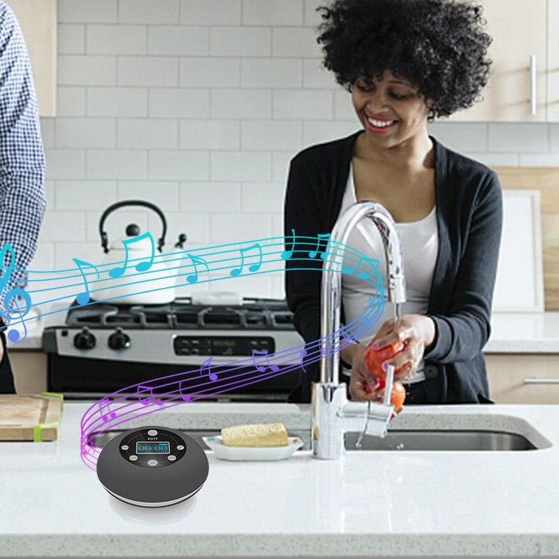 Top SaleBluetooth Speaker Subwoofer Raido Sd-Card Waterproof Wireless FM with Sucker Bass