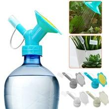 2 In1 Sprinkler Nozzle Watering for Plant Pots Flower Waterers Bottle Watering Cans Cap Sprinkler Plant Irrigation Tool Supplies