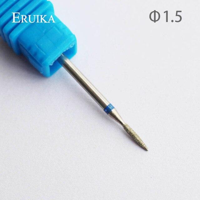 ERUIKA 8 Type Diamond Nail Drill Bit Rotary Burr Bit Pedicure Tools Electric Nail Manicure Machine Drill Accessories Nail Mills 5