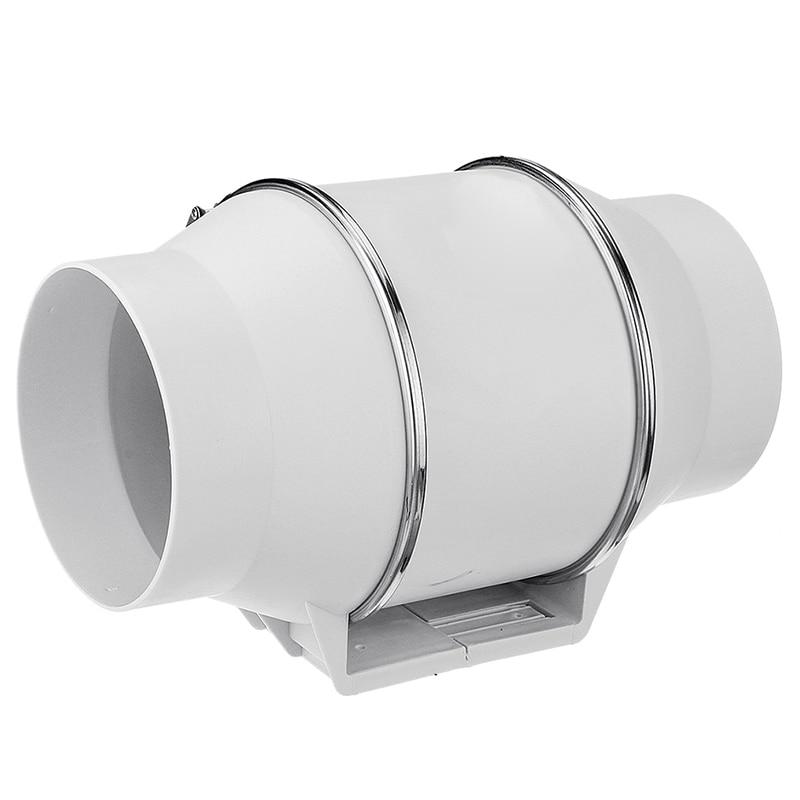 4 pouces mur fenêtre toilette montable ventilateur d'échappement pression Boost ventilateur ventilateur salle de bain enlèvement ventiler Air nettoyage cuisine Ba