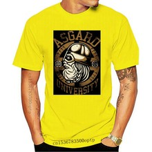 Asgard University M2 Premium T-Shirt Viking Odin, Germanic, Mjölnir, Viking High Quality Casual Printing Tee Shirt