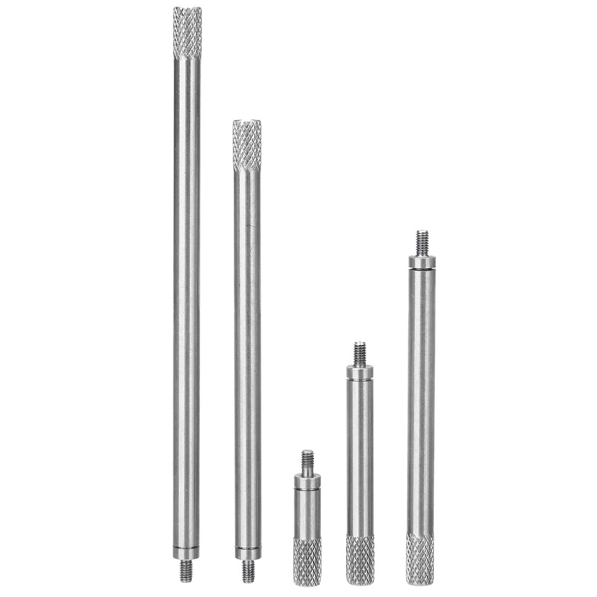 5pcs Dial Digital Indicator HSS Dia 5mm Indicator Dial Rod Extension Stem Rod Set M2.5 20 40 60 80 100mm Electrical Equipments