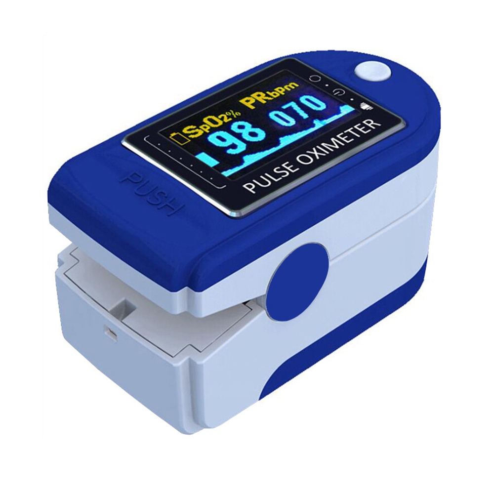 Oximeter Monitor Fingertip Clip SpO2 Body Health Monitor, Pulse Oximeter Activity Tracker (without Battery)