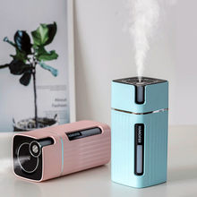 Portable Mini Air Humidifier 300ml Ultrasonic Aroma Essential Oil Diffuser USB Mist Maker Purifier Aromatherapy for Car Home