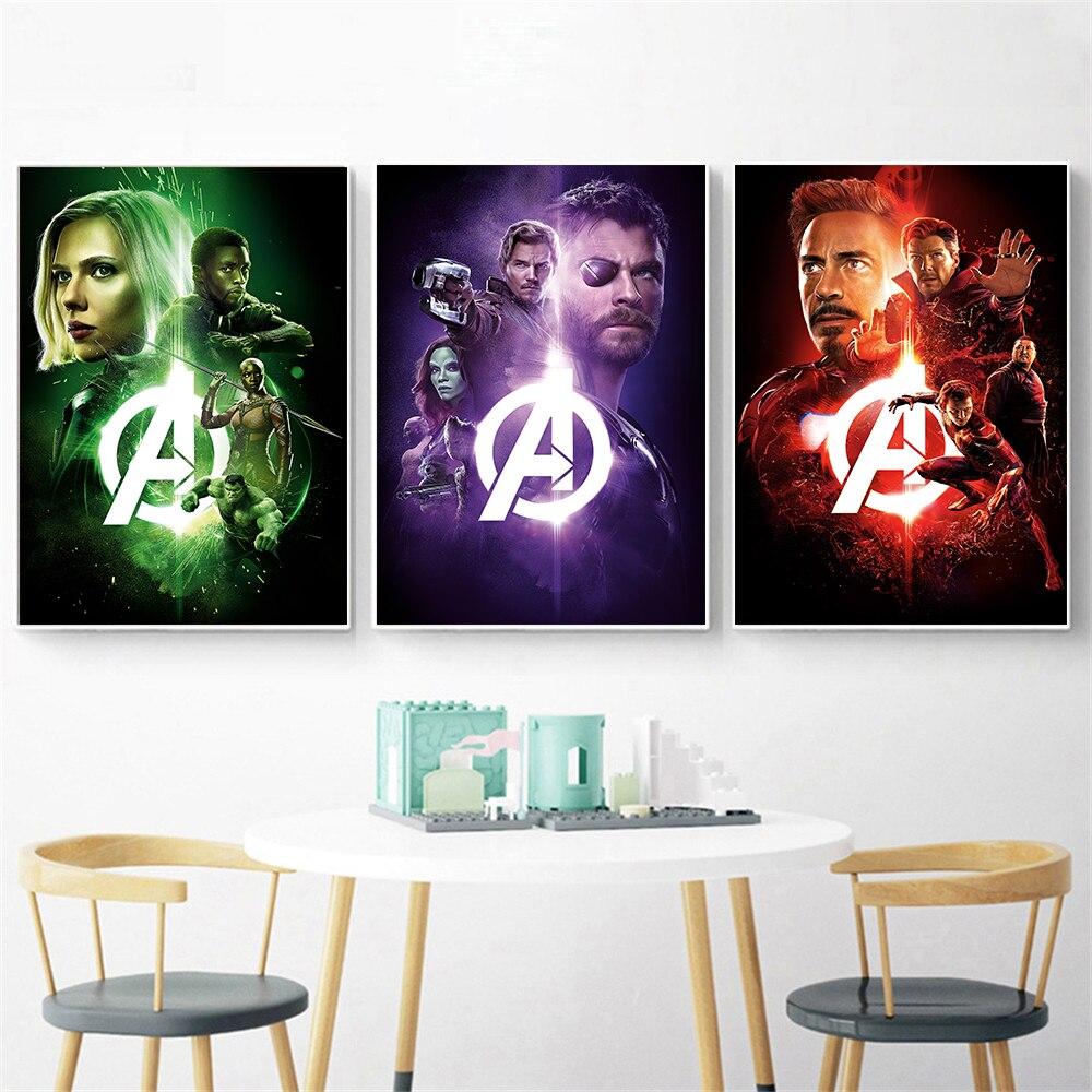 "Infinity War Thanos Avenger 24/"" x 16/"" Large Wall Poster Art Print Gift Decor"