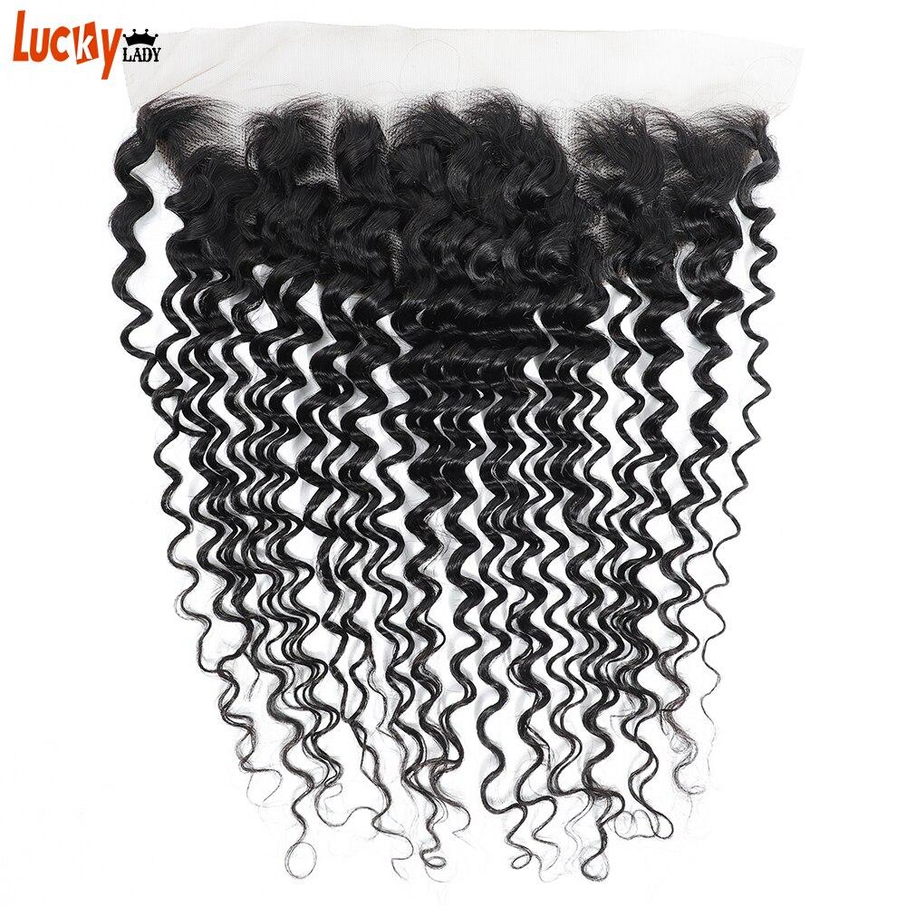 13x4 hd transparente laço frontal brasileiro onda profunda frontal livre/meio/três parte 100% remy cabelo humano pode ser tingido e lixívia