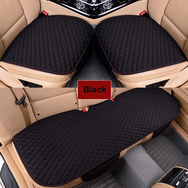 Image 2 - XWSN Linen car seat cover cushion suitable for 99% of the auto four seasons universal comfortable and breathable Car accessories-in Automobiles Seat Covers from Automobiles & Motorcycles