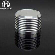 אלומיניום נפח ידית 1pcs קוטר 38mm גובה 25mm מגבר פוטנציומטר knob