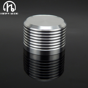 Image 1 - אלומיניום נפח ידית 1pcs קוטר 38mm גובה 25mm מגבר פוטנציומטר knob