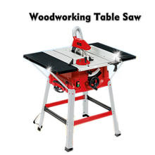 Multi-function Woodworking Cutting Machine 10 Inch Sliding Table Saw Push Plate Saw Angle Cut Circular Saw 220/110V цена и фото