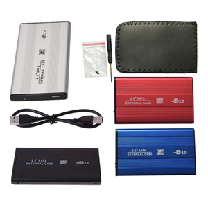 2.5inch USB 2.0 External Hard Drives HDD Enclosure Box 480mbps Support 3TB Aluminum HDD Drive Case for 2.5