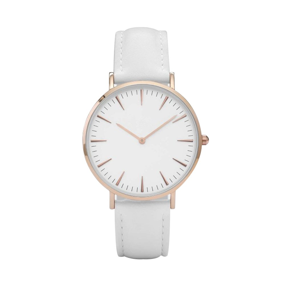 Fashion New 40mm Simple Stud Roman Scale Ladies Watch Europe And The Same Watch LOGO Can Be Customized