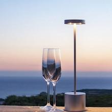 Барная настольная лампа европейского стандарта, атмосферное украшение для дома, сенсорный ночник с регулируемой яркостью, креативный деко...