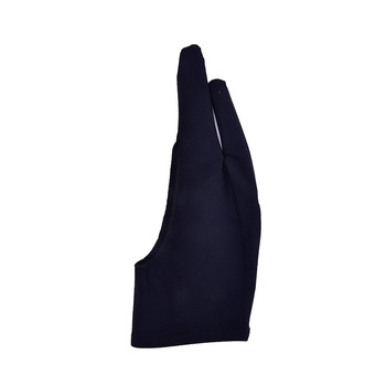 4 kolory rysunek artystyczny rękawiczki dla każdego Tablet graficzny do rysowania Black 2 Finger anti-fouling zarówno dla prawej i lewej ręki czarny tanie i dobre opinie CN (pochodzenie) drawing glove piece