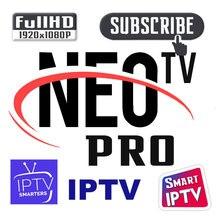 Neotv pro IPTV m3u abonnement 1 an Neo Iptv HD tv en direct VOD film pour m3u Neotv pro Android TV Box IPTV Smart TV Mag