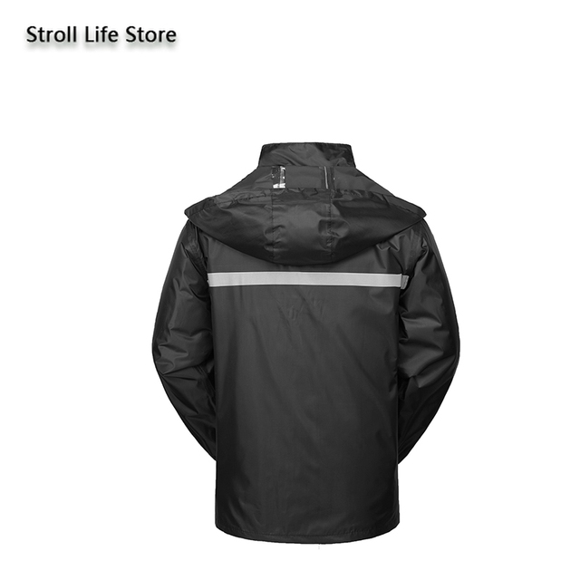 Hiking Raincoat Women Motorcycle Rain Pants Black Long Rain Coat Men Set Capa De Chuva Outdoor Suits for Men Rain Gear Partner 4