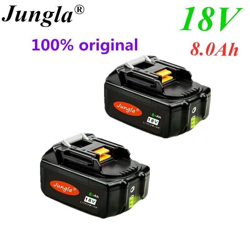 3 шт. BL1830 18В 8Ah аккумуляторная батарея 8000 мАч литий ионный аккумулятор для MAKITA BL1880 BL1860 BL1850|Перезаряжаемые батареи|   | АлиЭкспресс