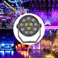 12LED RGB Par лампа KD-USB IP44 Водонепроницаемый Свадебный KTV бар клуб диско DJ сценический Светильник проектор с дистанционным управлением США/ЕС