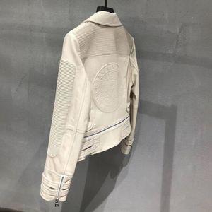 Image 5 - Genuine leather jacket women real leather jacket ladies 2020 new fashion high quality sheepskin coat female