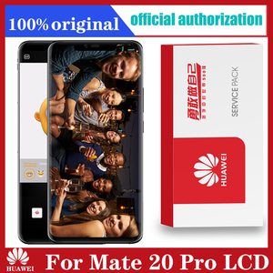Image 1 - Original 6.39 Display with frame fingerprint Replacement for Huawei Mate 20 Pro LCD Touch Screen LYA L29 Digitizer Assembly