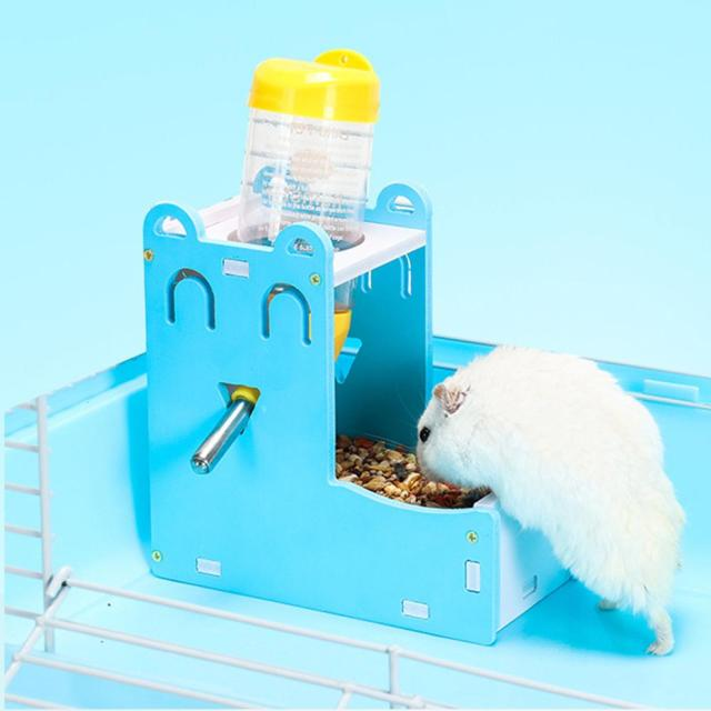 Plastic Hamster Drinker Water Bottle Dispenser Feeder Hanging Pet Dog Guinea Pig Squirrel Rabbit Drinking Head Pipe Fountain 5