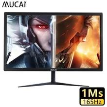 MUCAI 24 Inch Monitor 165Hz TN PC Lcd Display 144Hz HD Gaming Gamer Desktop Computer Screen Flat Panel HDMI/DP