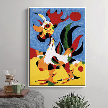 Joan Miro Abstract Paintings Printed on Canvas 6