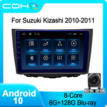 COHO For Suzuki Kizashi 2010-2011 Gps Audio Car Multimedia Player Radio Android 10.0 Octa Core 6+128G