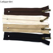 10 adet 3 # naylon fermuar yakın ucu Zip DIY ceket ceket çanta çadır fermuar dikiş giyim konfeksiyon aksesuarları DIY dikiş çantası 12-20cm
