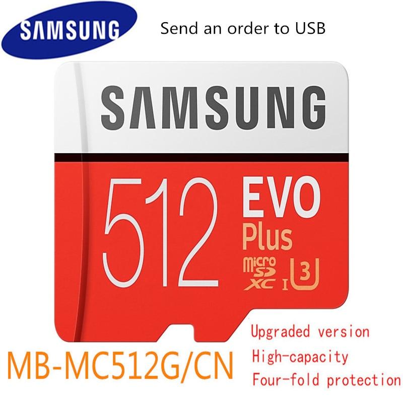 Samsung Evo Plus Micro Sd Card  512gb  Sdhc Sdxc Grade Evo+ Class 10 C10 Uhs Tf Cards Trans Flash Microsd Original