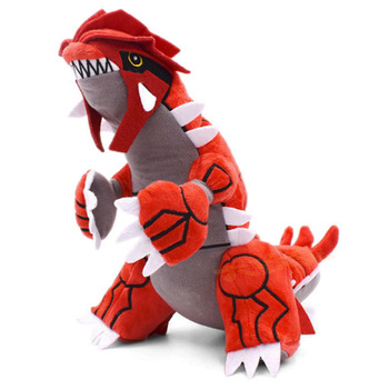 Takara TOMY Pokemon Plush Toy 30cm Incineroar Groudon Action figure model Hobby Collection Doll Kawaii Gift for Kids недорого