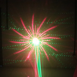 Image 5 - DJ stage laser light 2019 newest 2in1 strobe laser lighting disco home party holiday strobe projector
