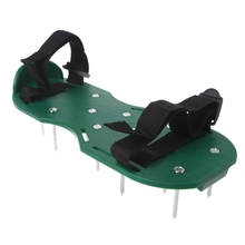 1 Pair Garden Yard Grass Cultivator Scarification Lawn Aerator Nail Shoes Tool N84C
