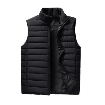 Spring Autumn Men Vest 2019 New Stylish Plus Size 5XL Warm Sleeveless Jacket Men Winter Waistcoat Men's Vest Casual Coats