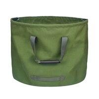 2 pacote portátil à prova dreágua reutilizável jardim gramado folha lixo saco de armazenamento recipiente tote jardim quintal composto saco|Sacos de lixo| |  -