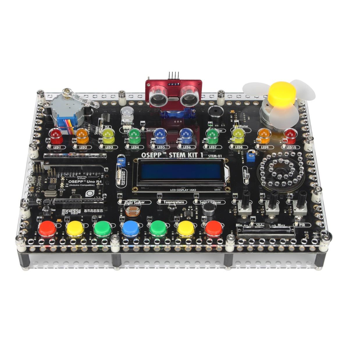 Osepp Stem Hub Alles In Een Geïntegreerde Ontwikkelomgeving-Arduino Start Kit Voor Programmering Elektronische Beginer 2