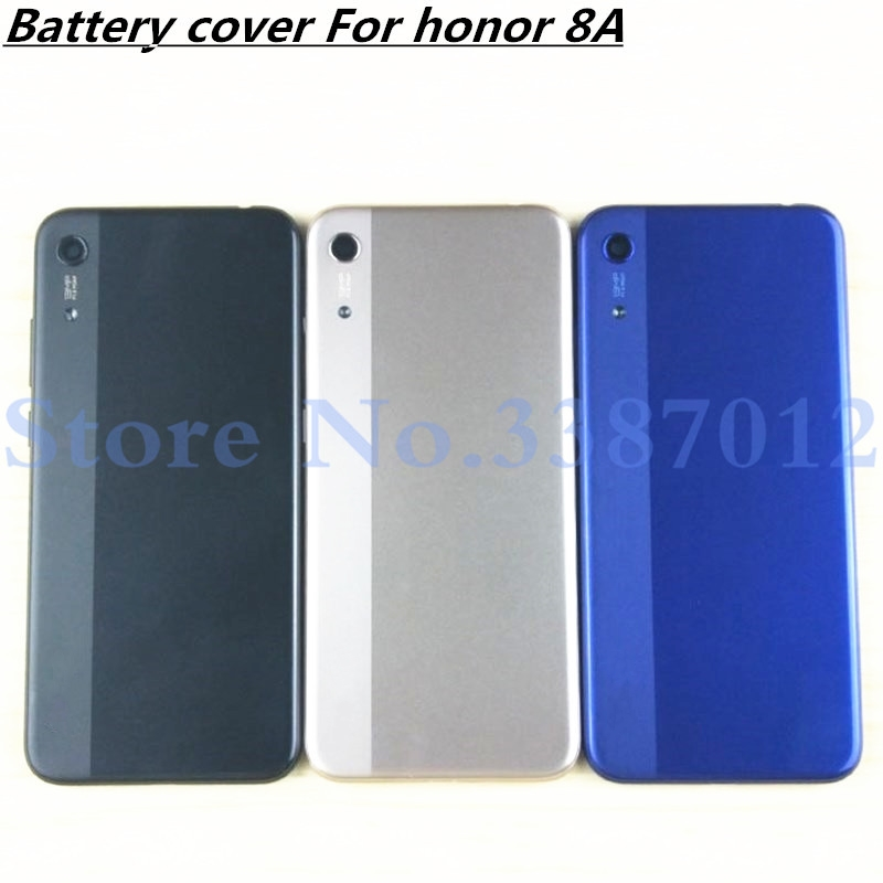 6.09 Inch For Huawei Honor 8A / Honor 8A Pro Back Battery Cover Door Housing Case Rear Parts With Side Buttons