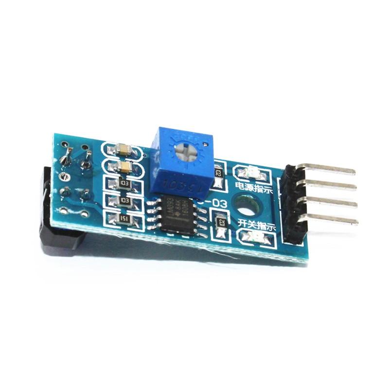 10pcs TCRT5000 Sensor For Arduino Track IR Photoelectric Switch Transducer Line (3)