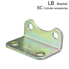 1pcs SC standard cylinder accessory stand mounting stand fixing accessory stand base LB40/50/63/80/100