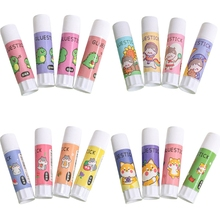 Glue-Stick School-Supplies Cute for Student Stationery DIY Craft High-Viscosity Strong-Adhesives